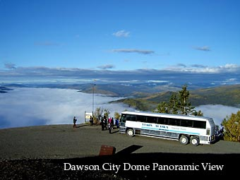 Dawson City Dome Panoramic View